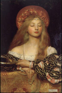 Frank Cadogan Cowper, Vanity, 1907, Royal Academy of Arts, London. Copyright Frank Cadogan Cowper 1958