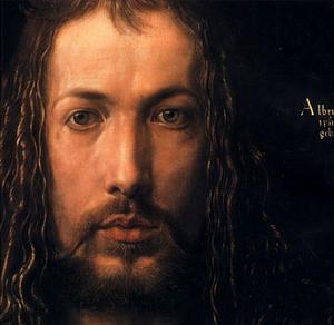 Albrecht Dürer, Autoportrait (détail), Alte pinakothek, Munchen, 1500 - Huile sur bois